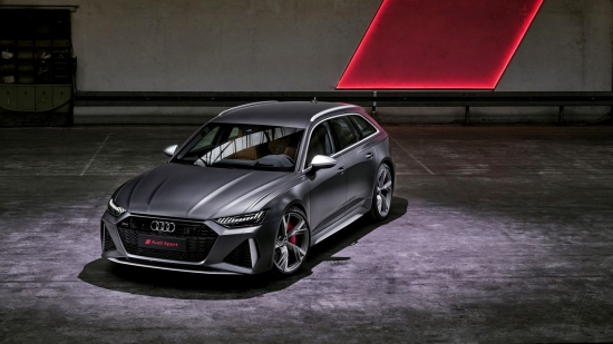Audi RS 6: unique features