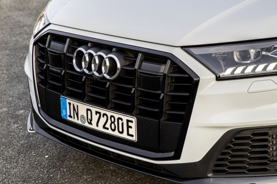 Hybrid mode the Audi Q7 quattro TFSI e