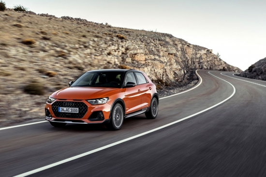 Audi unveils A1 CityCarver, A1 turned into a crossover
